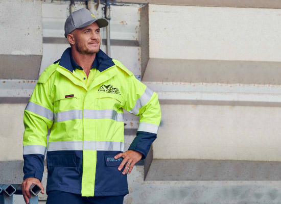 Construction and general trades uniforms