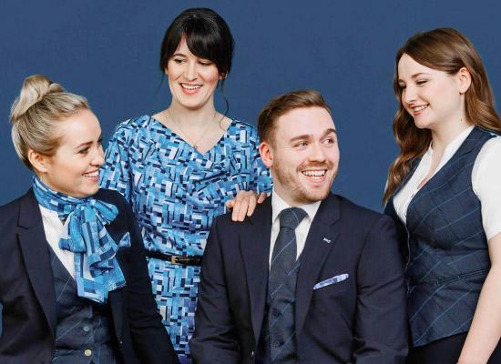 bank staff uniform supplier