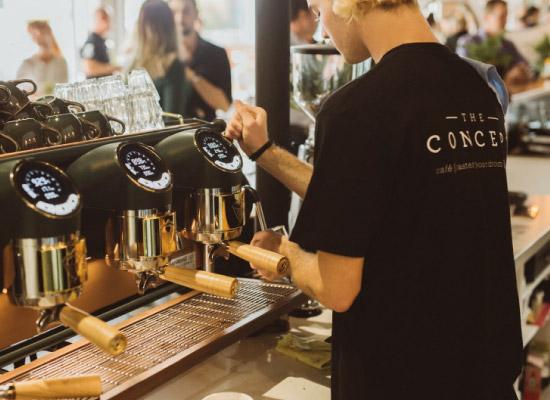 cafe barista uniforms