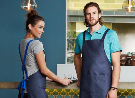 restaurant staff uniforms